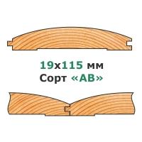 21х122 мм - Сорт «AB»