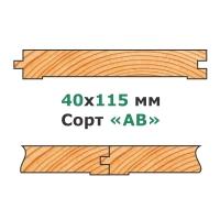 41х122,146 мм - Сорт «AB»
